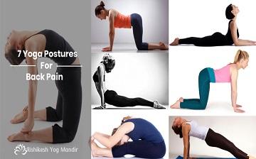 7 yoga postures for back pain  yoga teacher training in