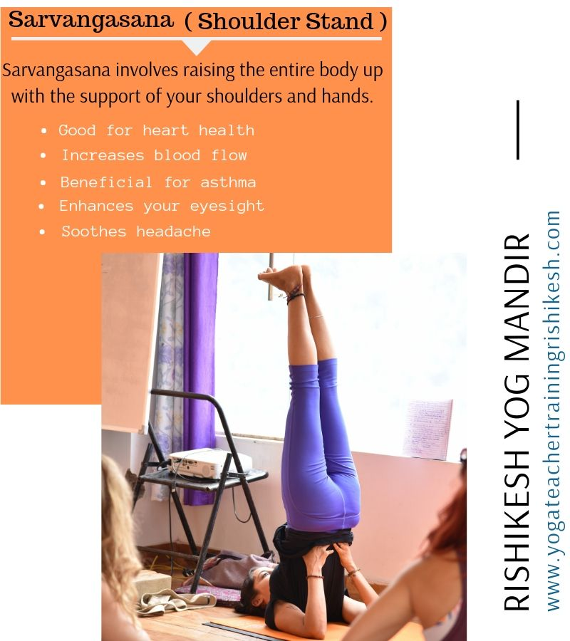 Benefits of Sarvangasana