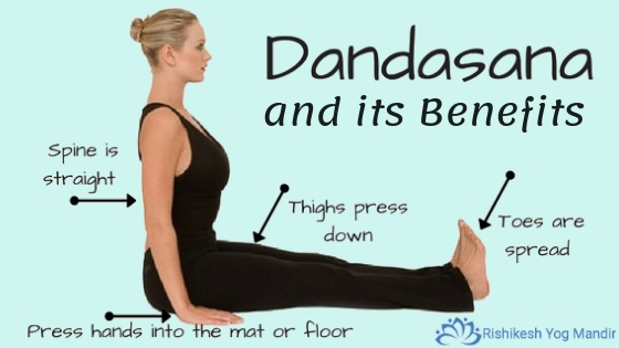 Dandasana and its Benefits