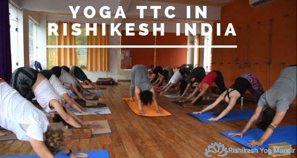 yoga TTC in Rishikesh