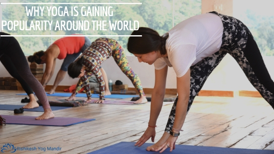 why is yoga becoming so popular