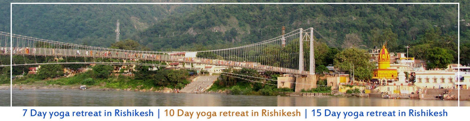 yoga holiday in Rishikesh